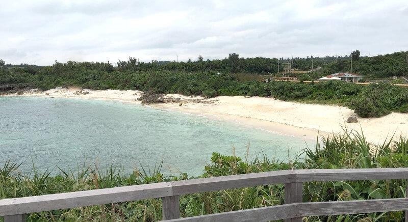 宮古島の日常風景写真-海