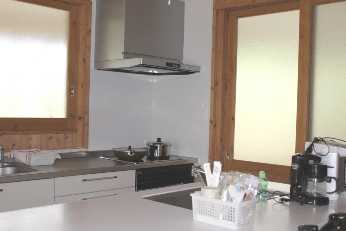 宮古島の郊外型エコハウス-台所(キッチン)