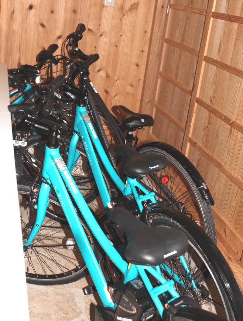 宮古島の郊外型エコハウス-電動自転車
