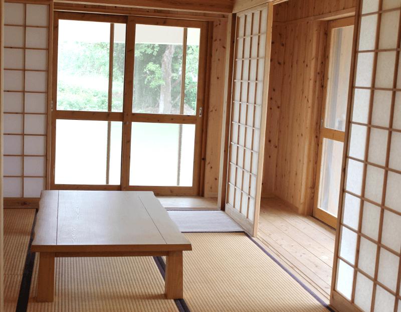 宮古島の郊外型エコハウス-一番座(メインルーム)(1)