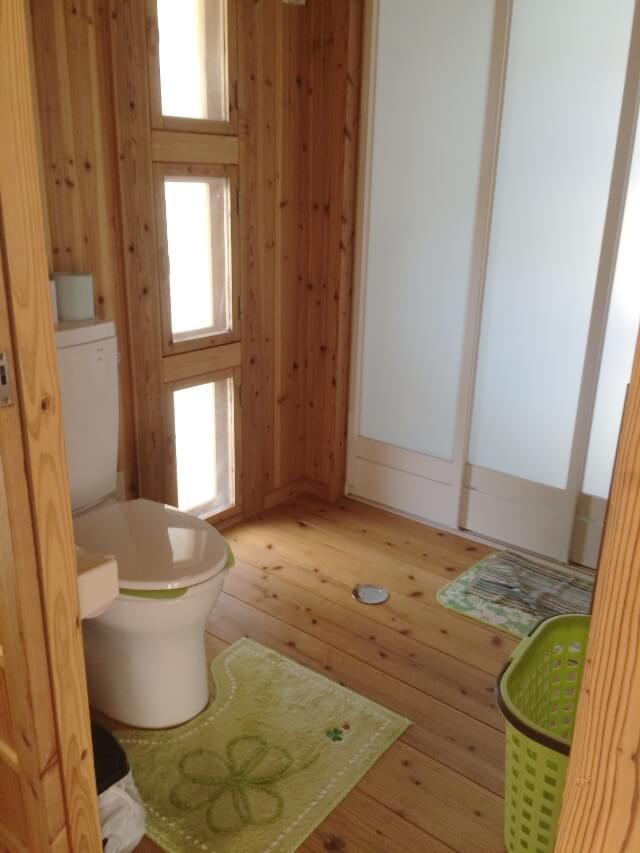 宮古島エコハウス(郊外型)離れのトイレ