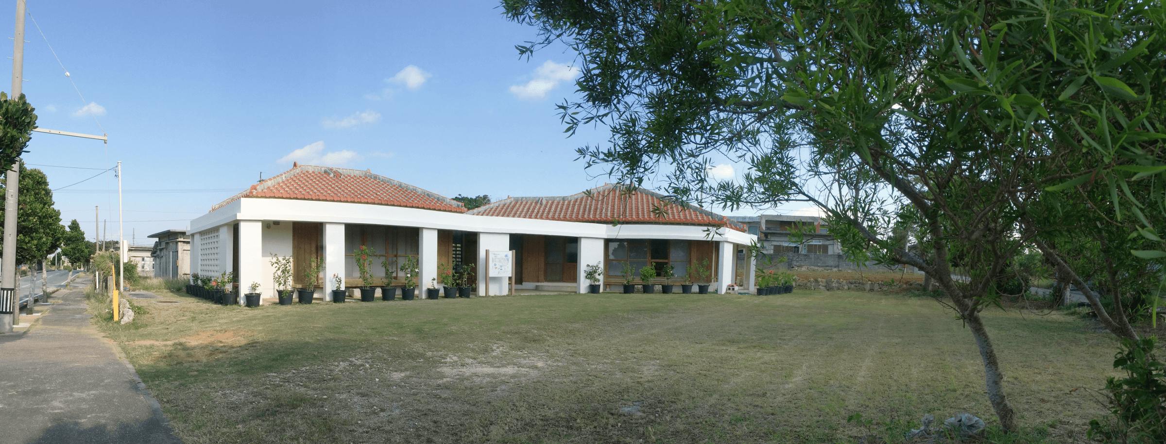宮古島エコハウス《郊外型》の全景