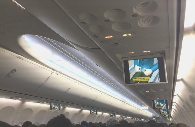 jal羽田宮古島線の飛行機が新しく!