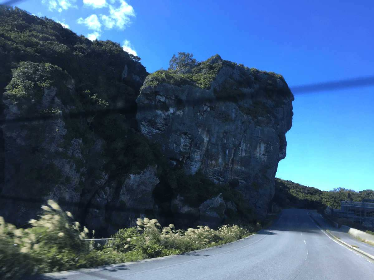 伊良部島らしい地形