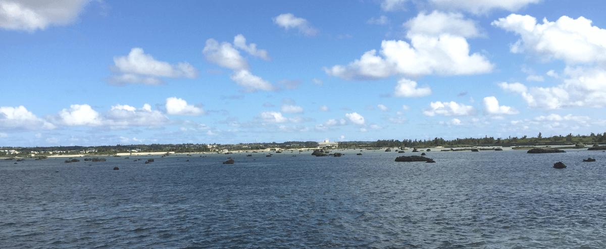 明和の大津波の残骸