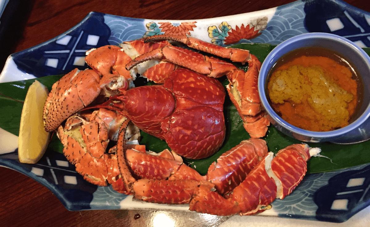 宮古島の珍味 ヤシガニ