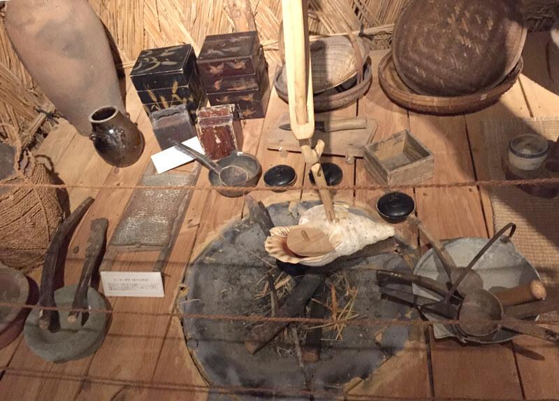 昔の宮古島のおうちの台所
