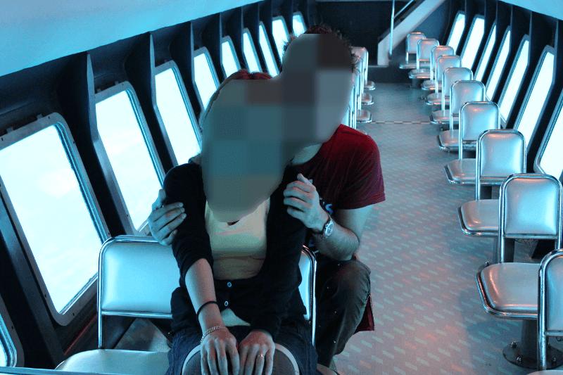 二人だけの水中観光船、楽しかったです♪〜宮古島で水中観光船シースカイ体験
