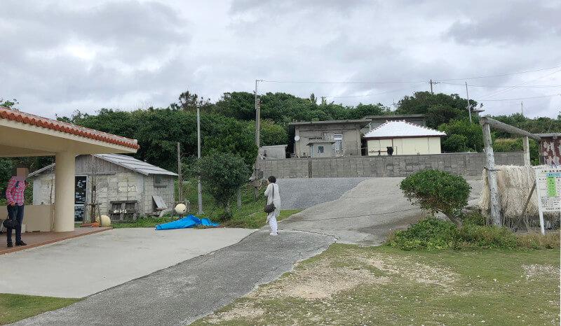 大神島の港まわり