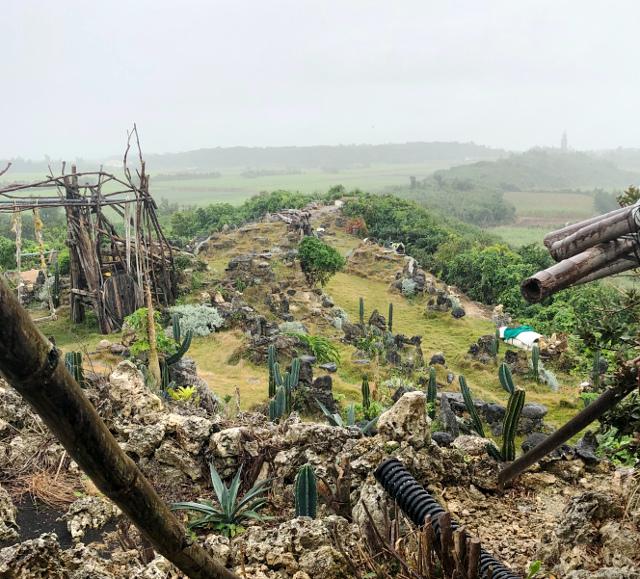 宮古島の天海山石庭(7)