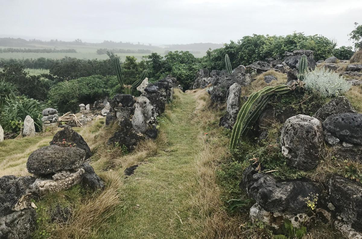 宮古島の天海山石庭(1)