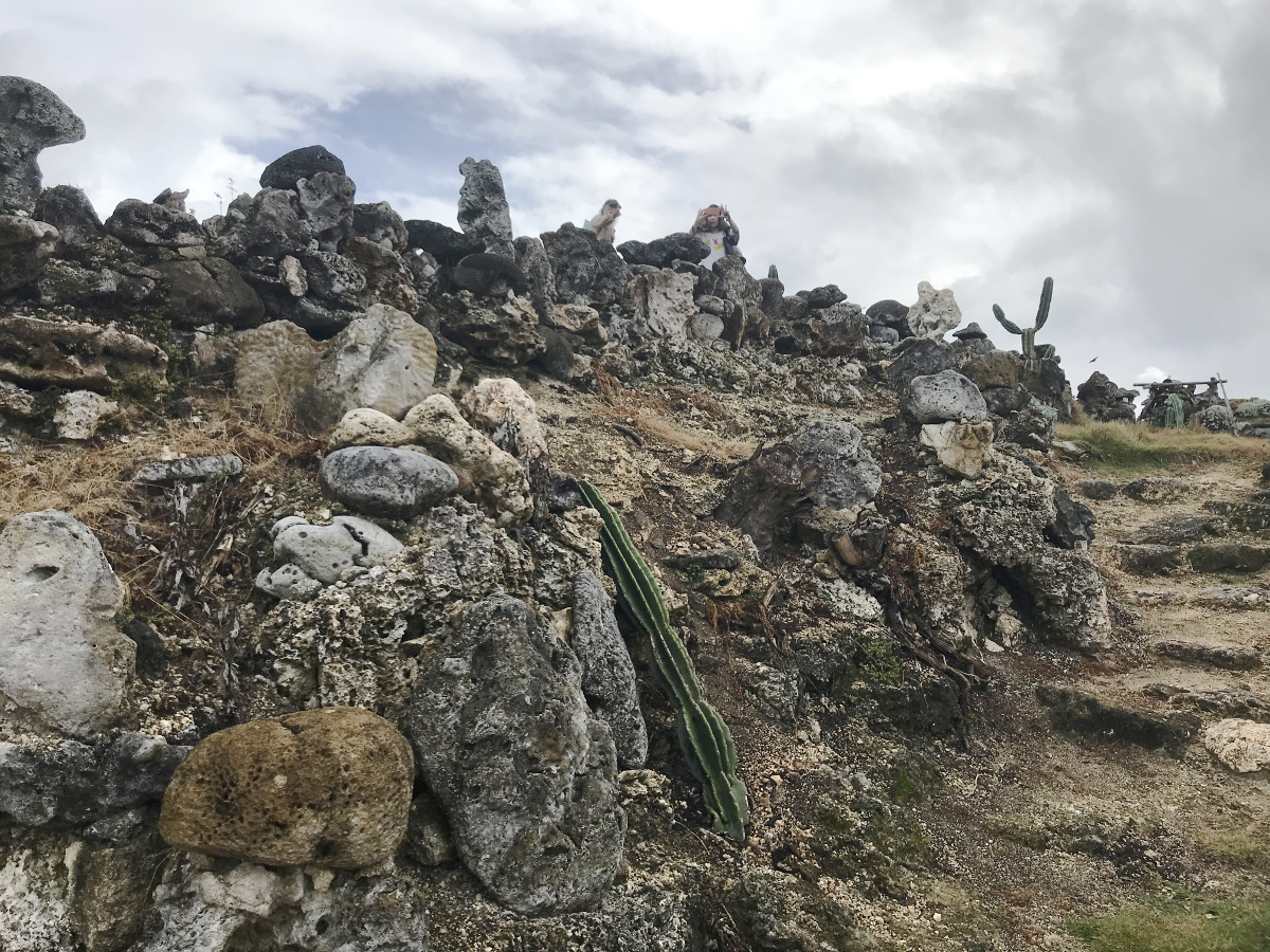 宮古島の天海山石庭(5)