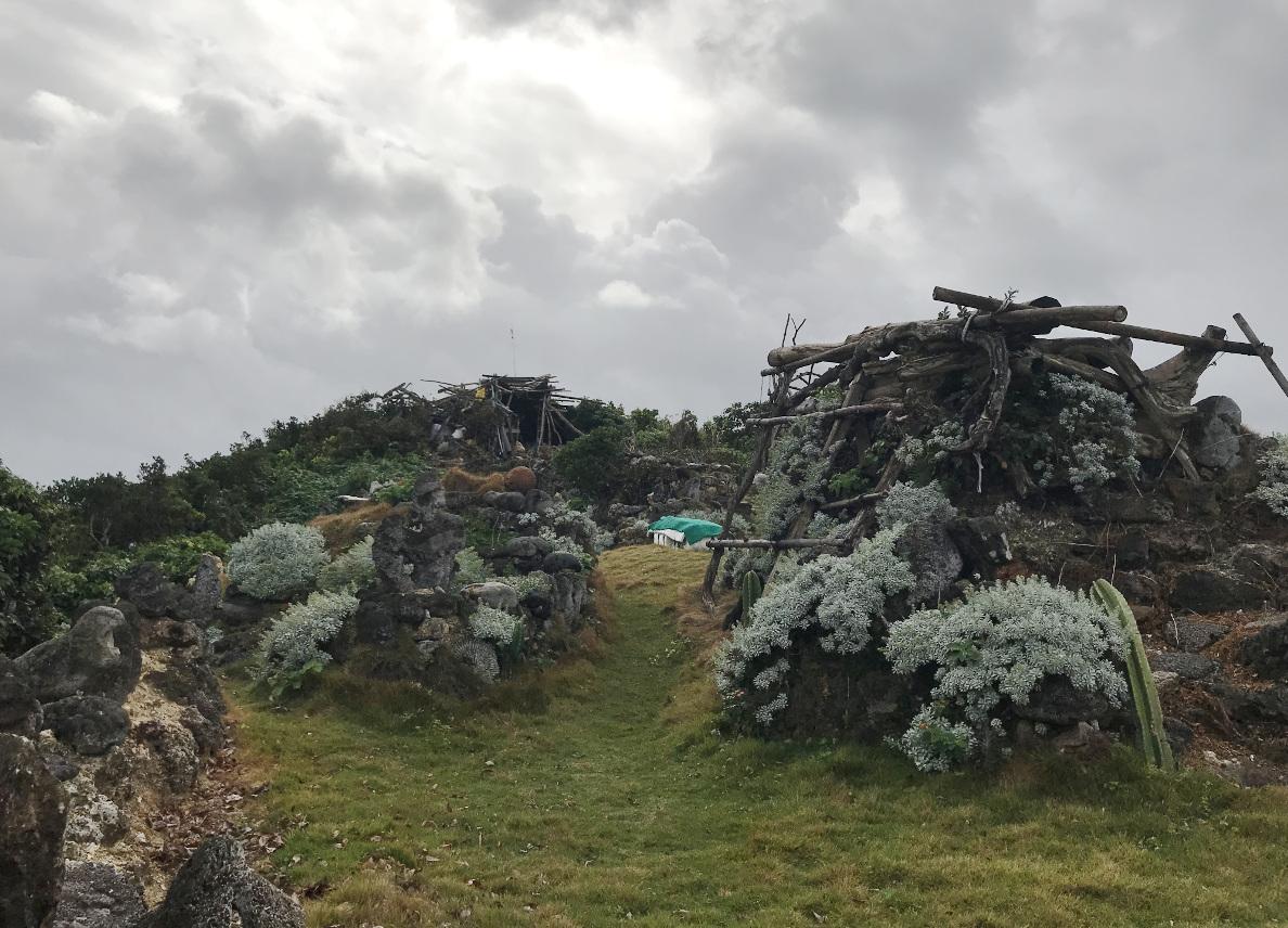 宮古島の天海山石庭(9)