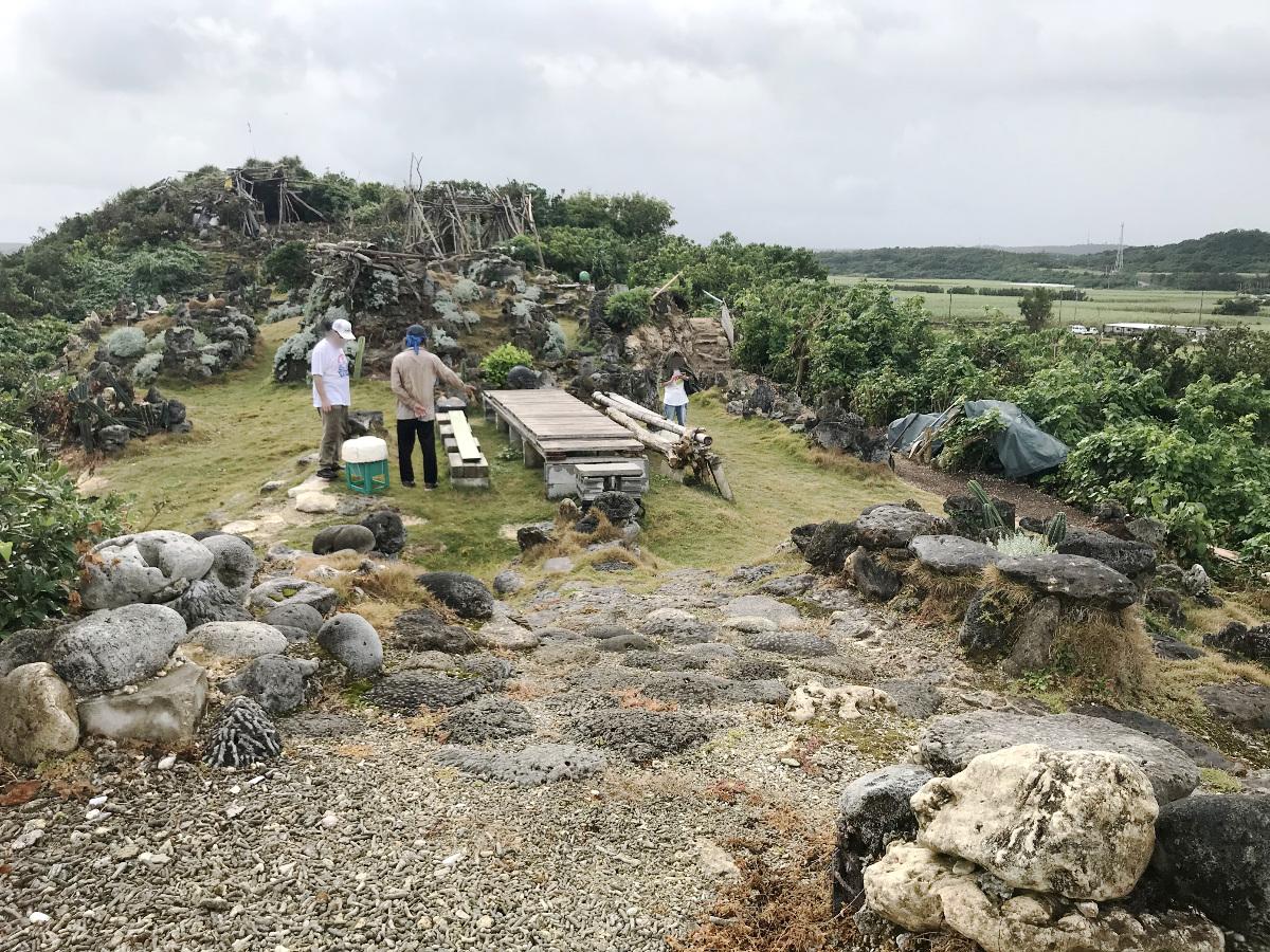 宮古島の天海山石庭(8)