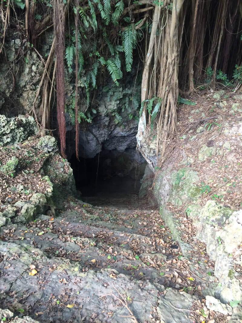 大和井の入口