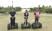 宮古島でセグウェイ体験(シギラフィールドの初心者コース)